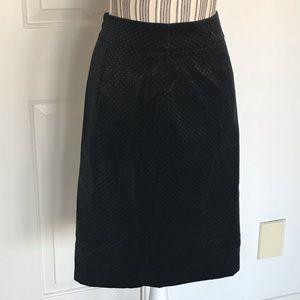 NWT J Crew Black Skirt